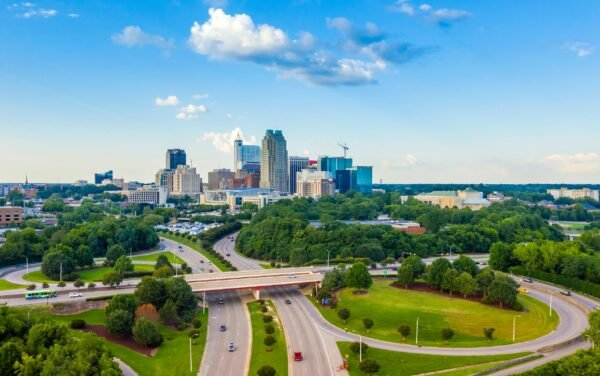 Aerial Photography From Raleigh and Cary North Carolina