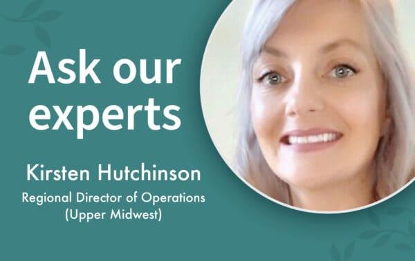 Kirsten Hutchinson Ask Our Expert header