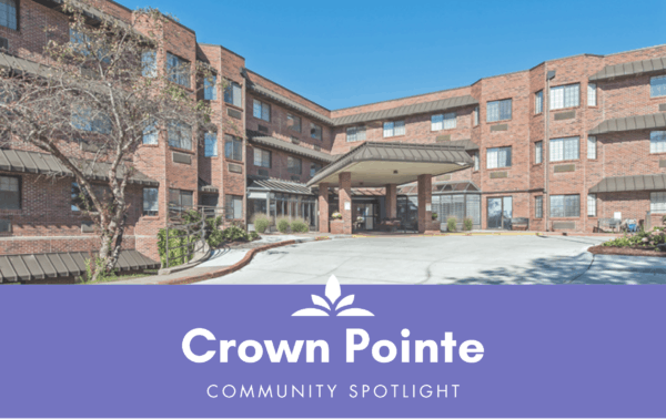 Crown Pointe senior living in Omaha, Nebraska