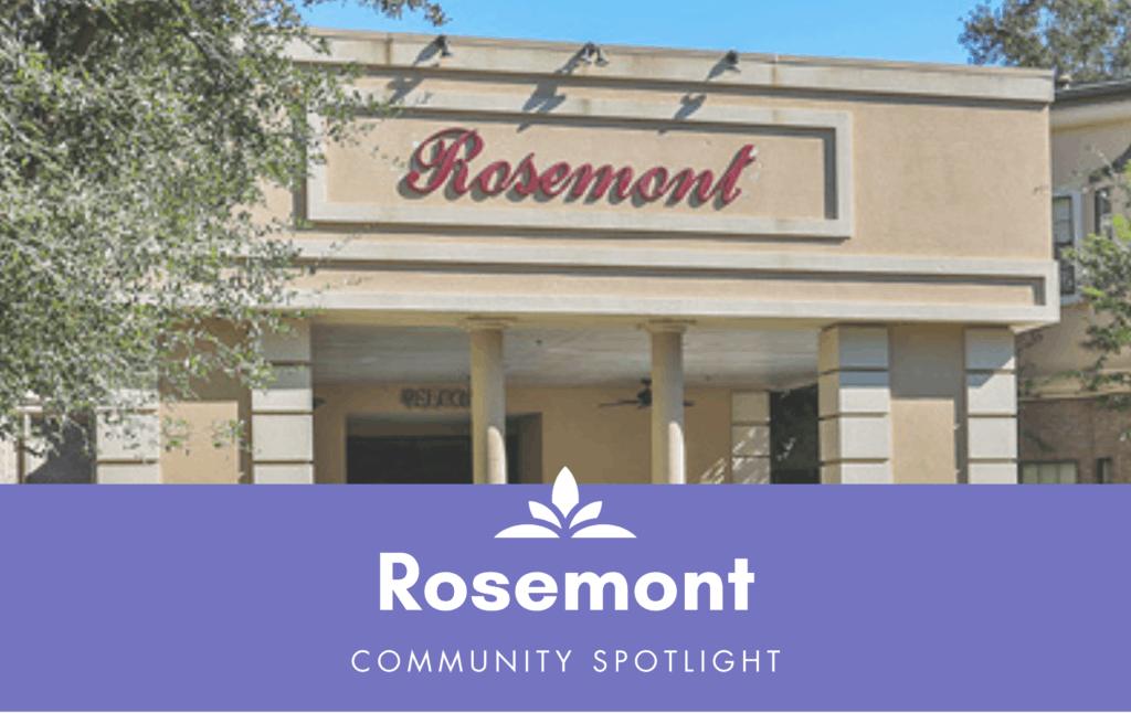 Rosemont senior living in Humble, Texas.