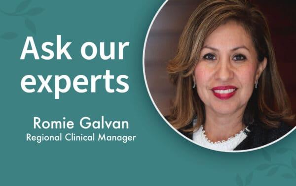 Romie Galvan works at Capital Senior Living