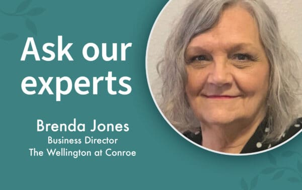Brenda Jones is the business director at The Wellington at Dayton in Ohio.