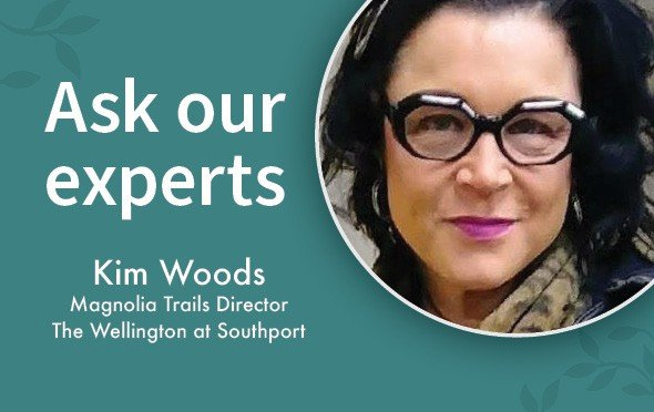 Kim Woods works at Capital Senior Living as a Magnolia Trails Director