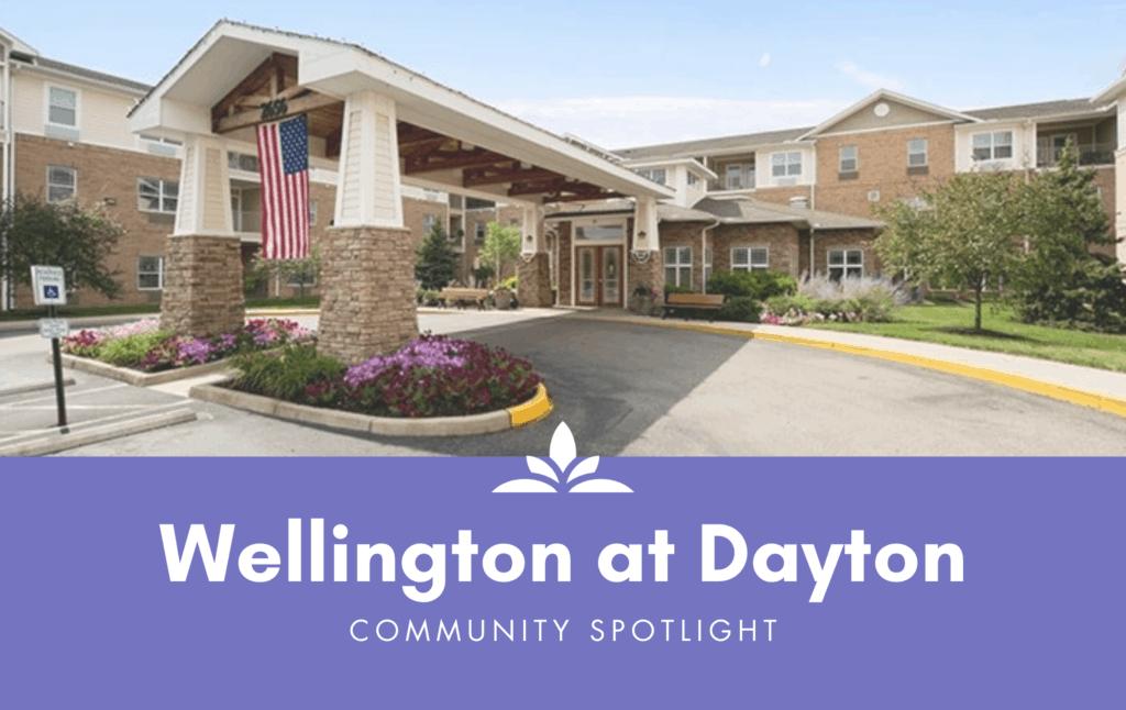 The Wellington at Dayton is a senior community in Dayton, Ohio.